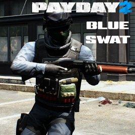 PAYDAY 2: Синий SWAT (игрок/нпс)