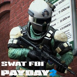 PAYDAY 2: SWAT FBI (player/npc)