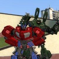 TF wfc Optimus and Brawl