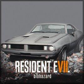Resident Evil 7 - Dodge Challenger