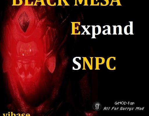 [VJ] Black Mesa Expand SNPCs (23.04.2017)
