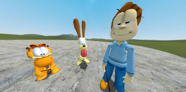 Garfield Player Models + NPC's