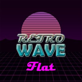 Retro Wave Flat
