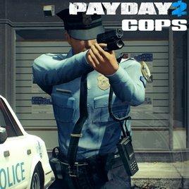 PAYDAY 2: Полицейские (игрок/нпс)