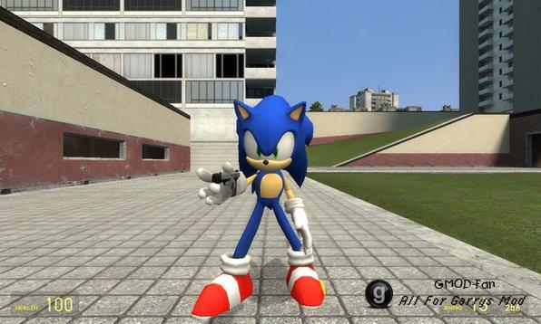Unleashed Sonic Playermodel + NPCs