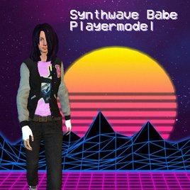 Synthwave Babe Playermodel