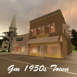1950s Town
