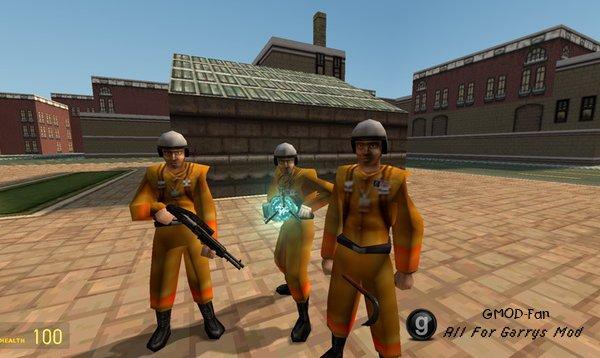 Оружие и плеермодели из Half-Life: Alpha
