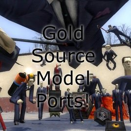 Goldsource Model Ports! + Goldsource Chrome Texture Fix