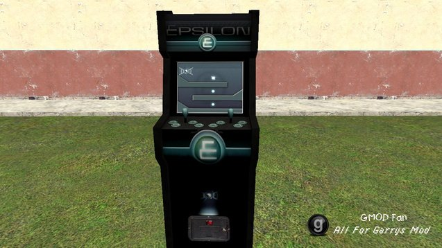 GMod Tower Arcade Machines