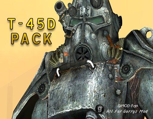 T-45D Power Armor Pack