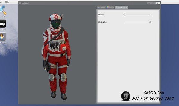 PAYDAY 2: Медик (модель игрока/нпс)
