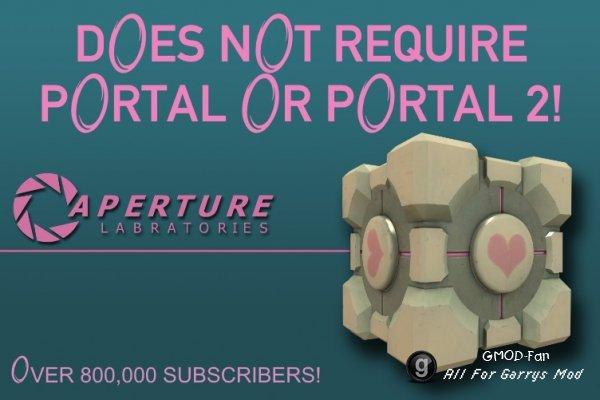 Apeture Science Handheld Portal Device