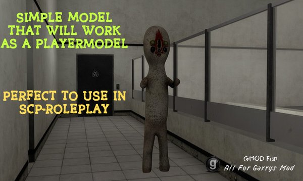 SCP 173 Player Model