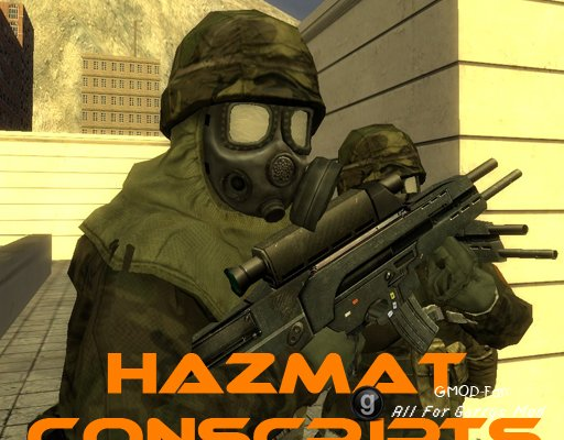 Hazmat Conscripts Playermodel+NPCs