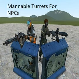 Mannable NPC Turrets BETA