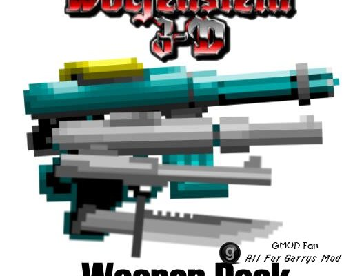 Wolfenstein 3D Weapon Pack