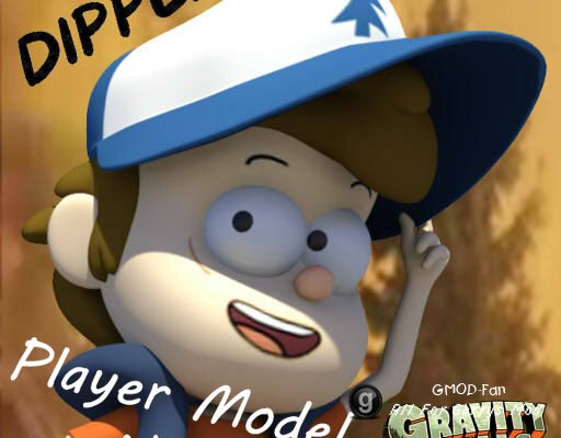 Dipper Pines Player Model/NPC