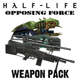 Half-Life Opposing Force Weapon Pack