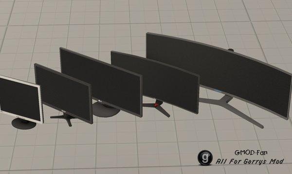 PC Monitors (pack)