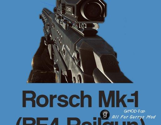 Rorsch Mk-1 (BF4 Railgun) SWEP