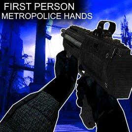 Metropolice View Model Hands