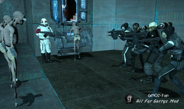 Half Life 2 Survivor NPCs + Playermodels