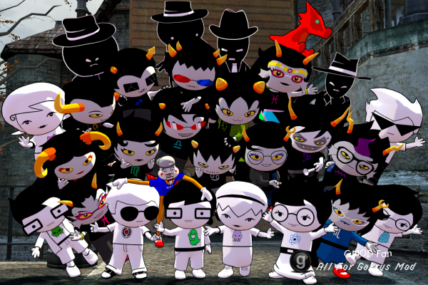Homestuck Playset