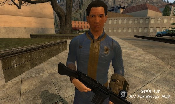 Fallout 4 Sole Survivor Vault 111 (Male) [PM/NPC]