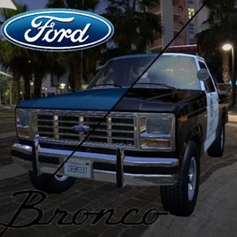 CrSk Autos - Ford Bronco 1982 Pack (Regular/police)