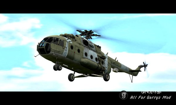 Call Of Duty Remastered: Helicopters (props)