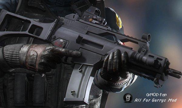 Modern Warfare Remastered - G36C (Viewmodel)
