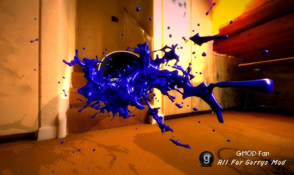 3D Splash Props