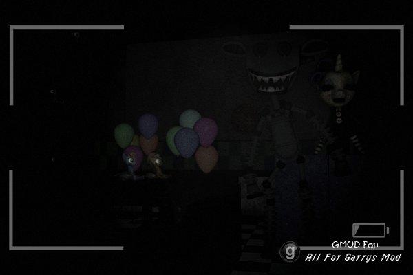Endoskeleton - Pony из игры FNAF 2