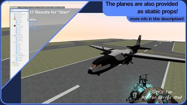 Airplane Map Pack 2