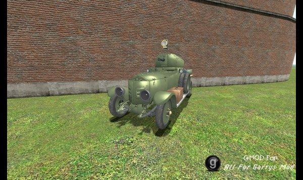 Battlefield 1 Armored Car (Simfphys)