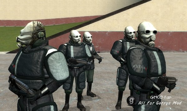 Combine Armored PMs and NPCs