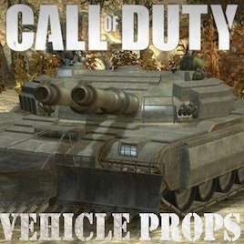 Call of Duty Vehicle PROPS Part 2