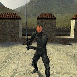 Stealth Katana SWEP (Single Player Only)