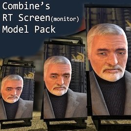 Combine RT Screen(monitor) Model Pack