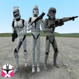 CGI clone troopers Playermodels