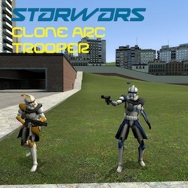 Clone Arc Trooper Player Model
