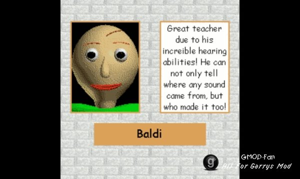 Baldi's Basics Sound Pack