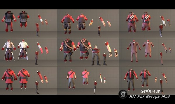 Expanded Gibbed Tf2 Characters