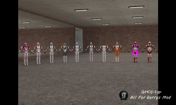 CGI clone troopers Playermodels