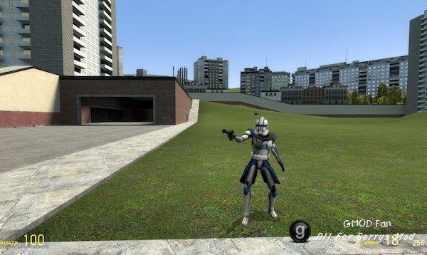 Clone Arc Trooper Player Model