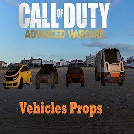Call Of Duty: Advanced Warfare Vehicles Props