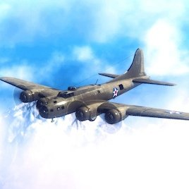 B-17E Flying Fortress