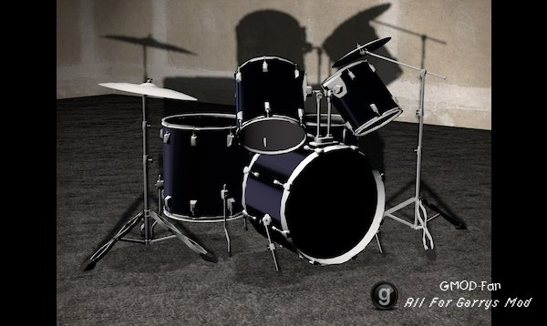 Playable Drumset (Double Bass Update)