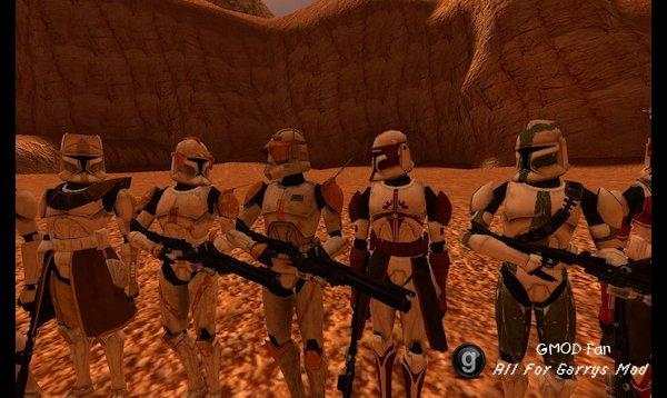 Star Wars CGI Trooper NPCs